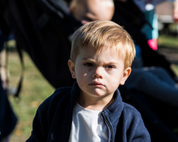 Adorable Photos That Prove Sweden's Prince Oscar Is the Grumpiest Royal